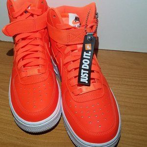 "NWOT Nike WMNS Air Force 1 HI LX ""Just Do It"""